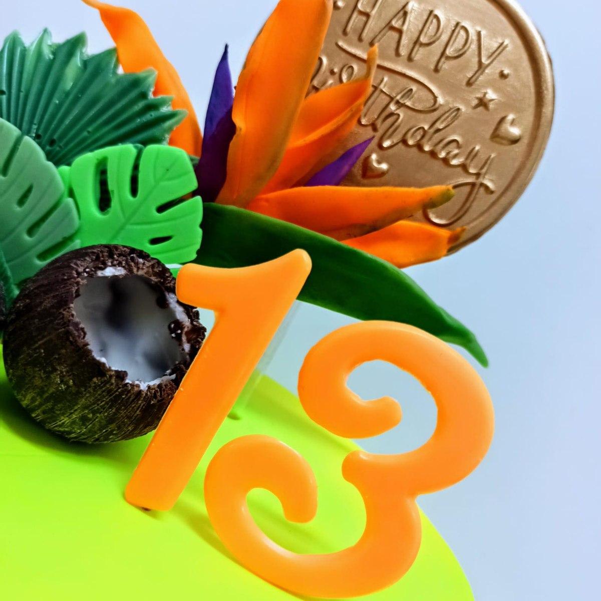 HAPPY BIRTHDAY תבנית טופר עם כיתוב | טופר לעוגת אהבה יום הולדת | חדש מאתי דבש 2021