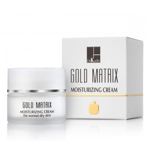 קרם לחות לעור פנים נורמלי ויבש  - Dr. Kadir Gold Matrix Moisturizing Cream