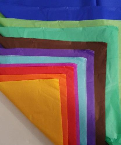 מארז נייר משי מעורב צבעים