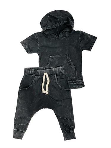 חליפת ג'ינס שקי אפור ORO