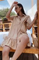 שמלת בוהו בז' ליב