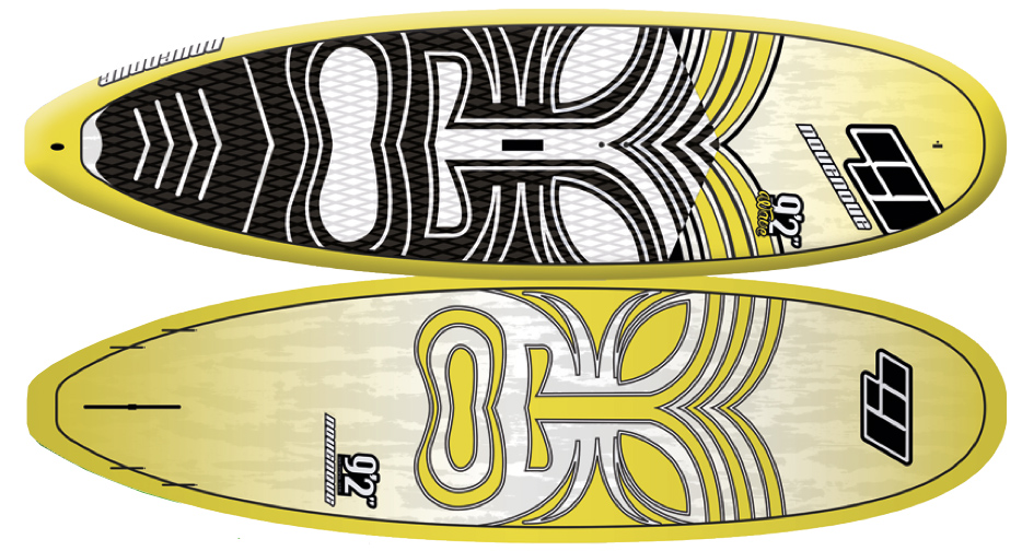 "CSE 9'2"" WOOD Wave / Allround"