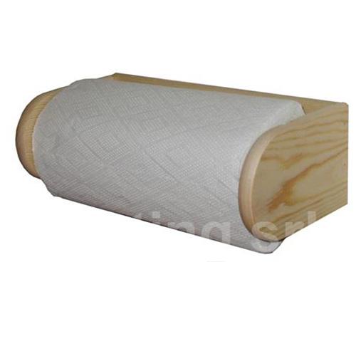 מתקן תלייה לנייר מעץ