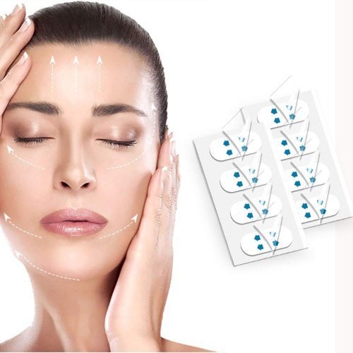 מדבקות שקופות להרמת עור הפנים - FACIAL.LIFTING