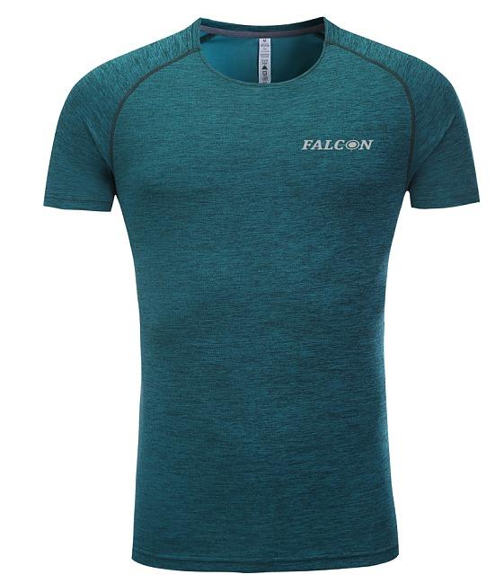 חולצת אימון מנדפת זיעה ירוקה  מותג  Falcon