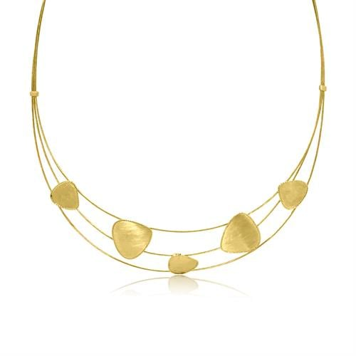 שרשרת זהב קולייר לאישה| שרשרת זהב לאירוע