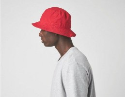 JUMPMAN WASHED BUCKET CAP RED