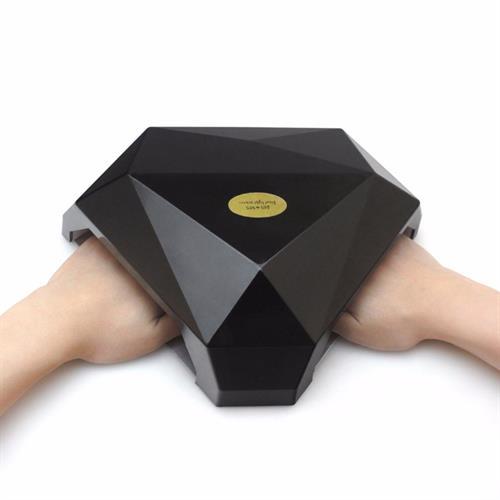 מכשיר מקצועי לייבוש ציפורניים 60W LED+UV עבור שתי ידיים עיצוב יהלום