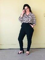 מכנסיי אוגוסט שחור