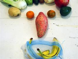 שקית נושמת קלת משקל לירקות ופירות - סופרשק