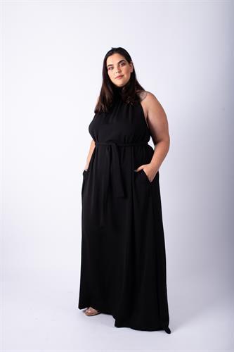 שמלת אליס מקסי שחור