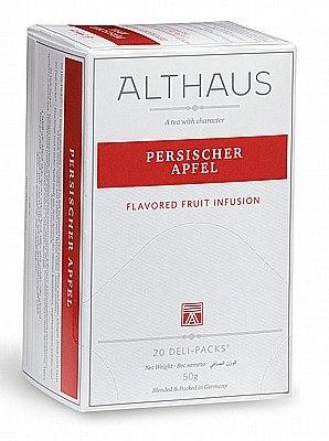 20 שקיקי תה פרסישר אפפל Persischer Apfel - תה אלטהאוס Althaus tea