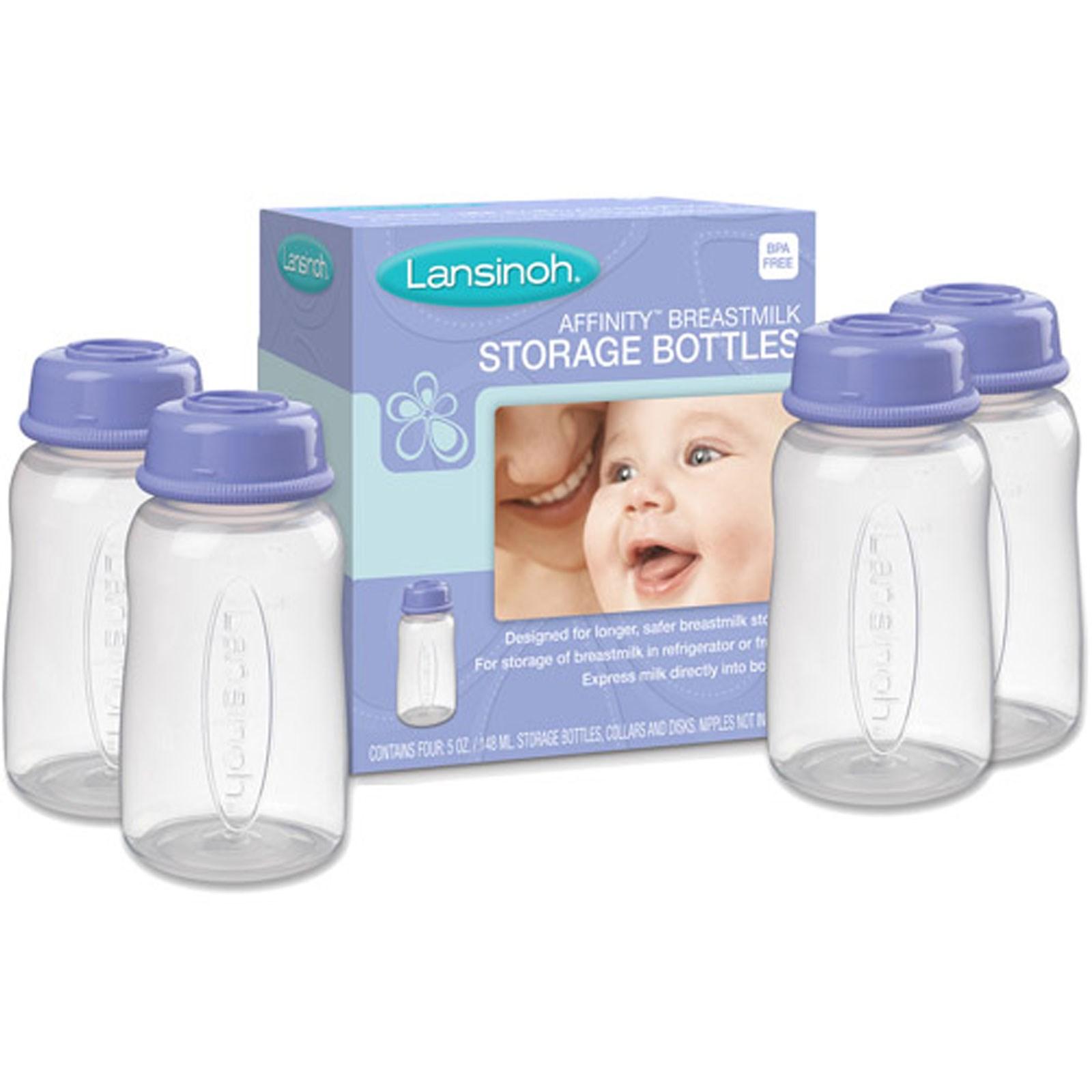 שמיניית בקבוקים לאחסון והקפאת חלב אם לנסינו - דור ישן