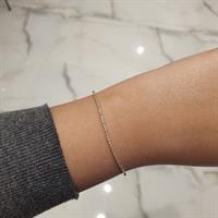 צמיד יהלומים צמיד טניס משובץ יהלומים 1.25 קראט|תעודת IGL