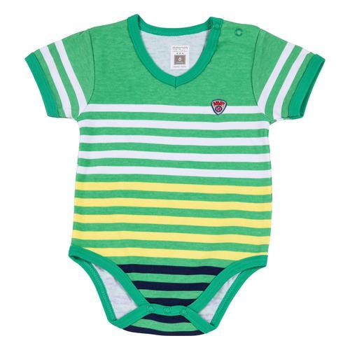 בגד גוף 7189 ירוק - צהוב
