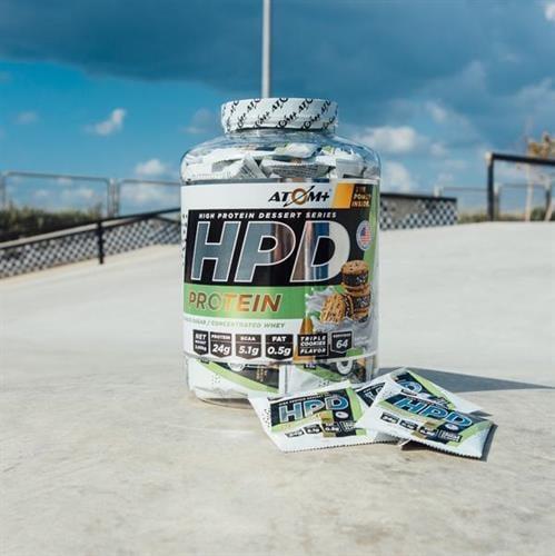 6 יח אבקת חלבון - ATOM - HPD מנות אישיות טעם אחיד