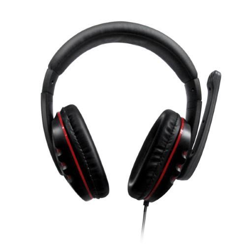 אוזניות מחשב, גיימר עם כניסת USB כולל כרטיס קול