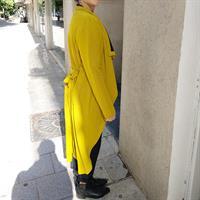 ג'קט רוקט צהוב