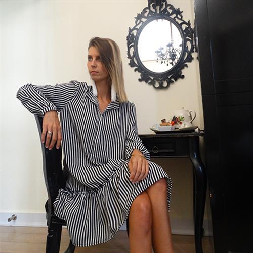 שמלת בלום פסים