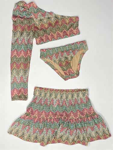 בגד ים שני חלקים עם חצאית COMO MAMA