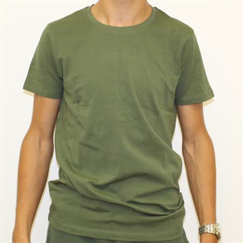 חולצה גבר לייקרה ניקי זית