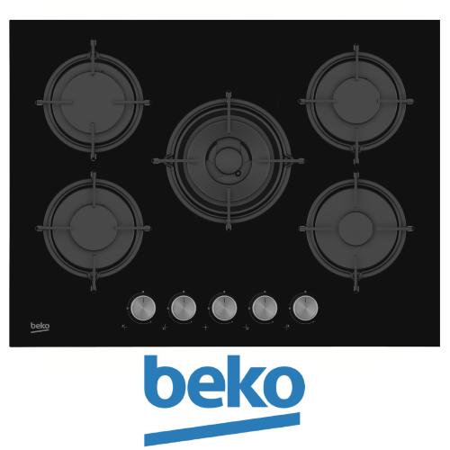 """כיריים גז 70 ס""""מ beko דגם: HISW-75220S"""