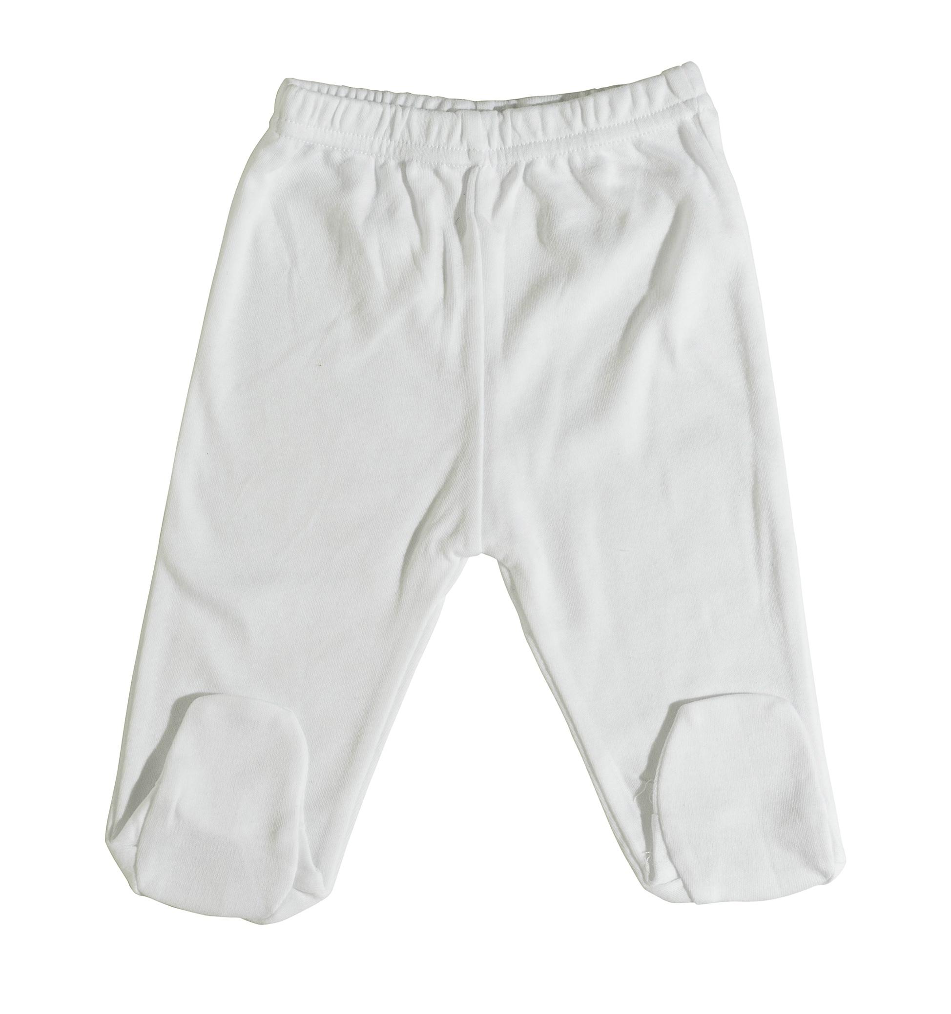 מכנס רגלית לבן B-004