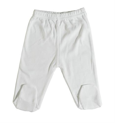 מכנס רגלית לבן B-004 טריקו