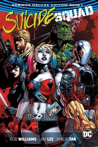 Suicide Squad Rebirth Deluxe Edition HC Book 1