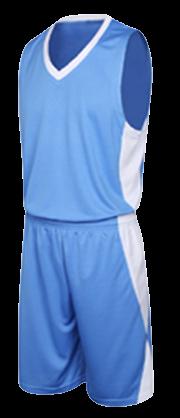 תלבושת כדורסל בעיצוב אישי Blue דגם #6013
