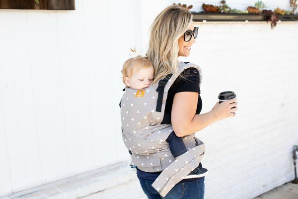מנשא טולה היברידי - Baby Tula Half Buckle Carrier