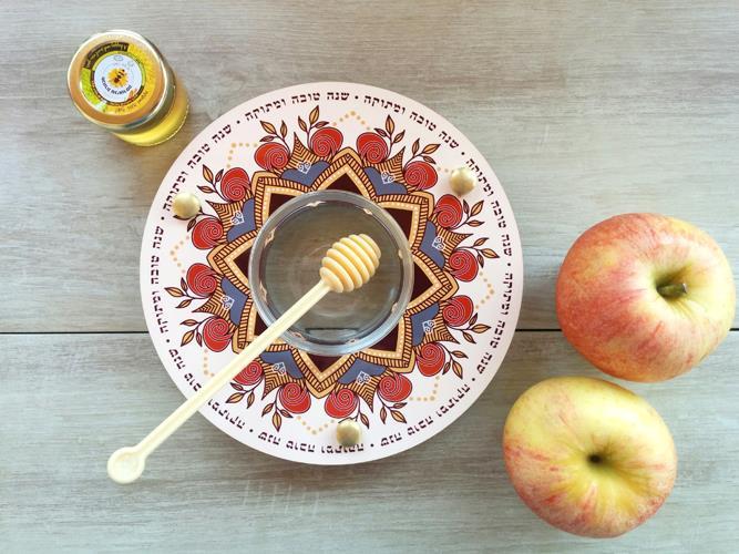 Shanabekef כלי לדבש ותפוחים Dvash_11