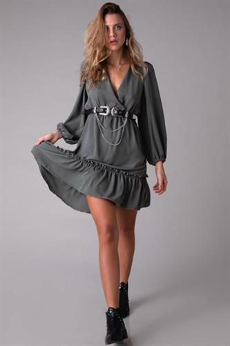 שמלה לואיזה זית