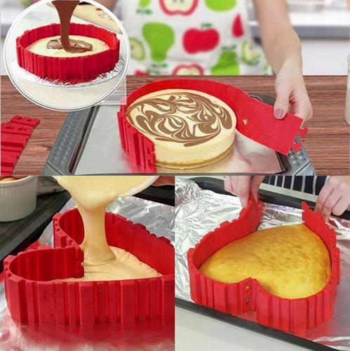 פטנט לעיצוב עוגות בכל צורה שתרצו - 4 יחידות