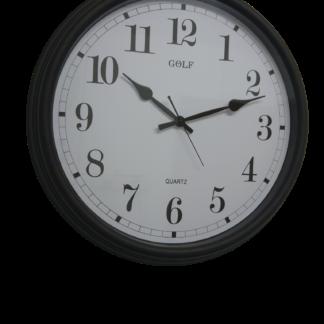"""שעון קיר ענק לאולמות ובתי כנסת גולף 50 ס""""מ GOLF"""