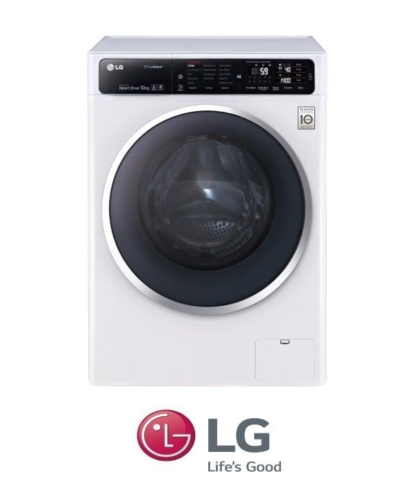 "LG מכונת כביסה 10.5 ק""ג דגם F-111400W"