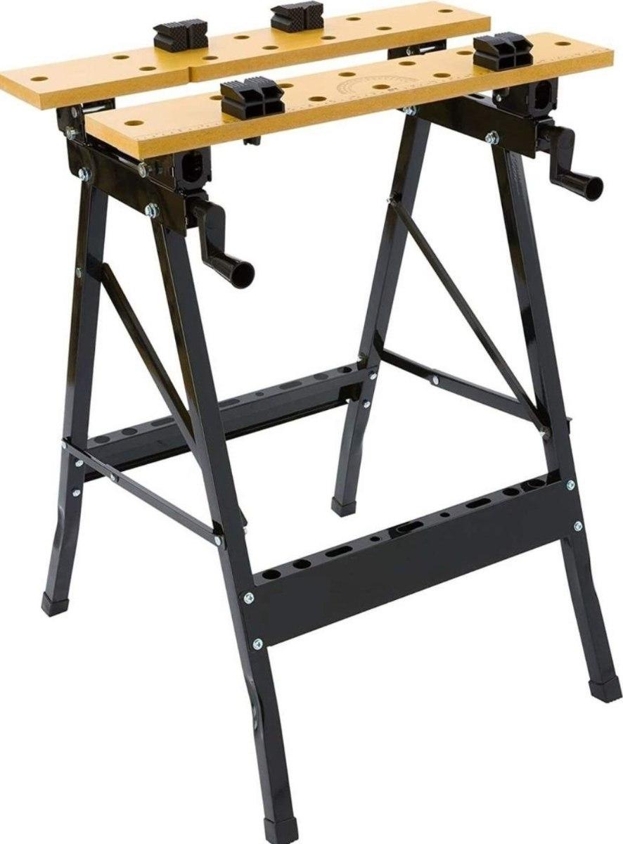 שולחן עבודה מלחציים מתקפל מקצועי למגוון שימושים מבית MOLLER GERMANY