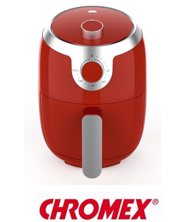 סיר טיגון ללא שמן בגוון אדום דגםAF616R