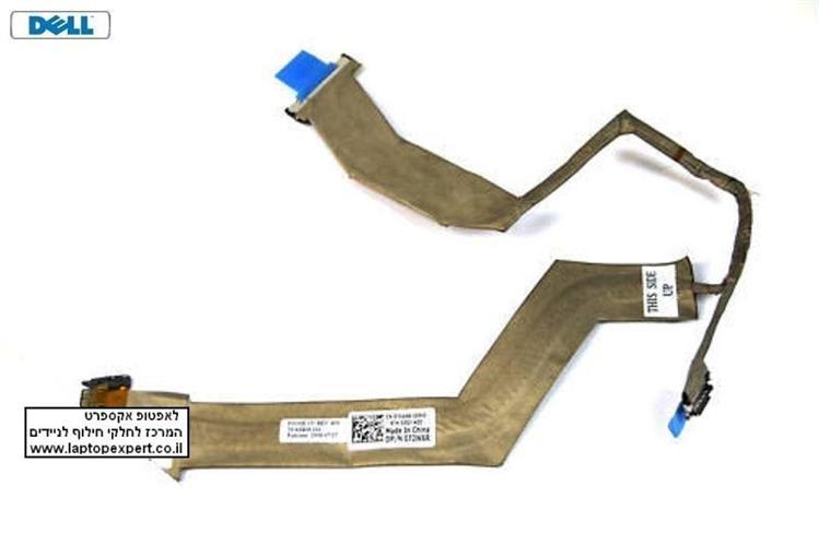 """כבל מסך למחשב נייד דל Dell Latitude E5500 LCD Cable 15.4"""" Screen 072W6R, 72W6R, 50.4X809.101, 50.4X809.001"""