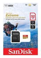כרטיס זיכרון  Sandisk Extreme Micro SDHC 32GB SDSQXAF-032G V30-A1-032G סנדיסק