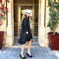שמלת ברוקלין שחורה