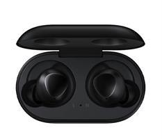 אוזניות אלחוטיות Samsung Galaxy Buds עם מיקרופון Bluetooth בצבע שחור הכוללות כיסוי טעינה