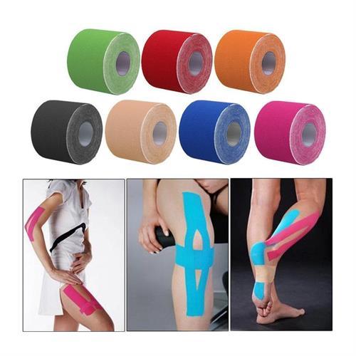 מדבקה אלסטית שתשמור עליכם בזמן פעילות ספורטיבית  2.5cmx 5 M