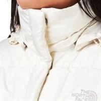 מעיל פוך נשים נורט פייס מדגם The North Face Women's Metropolis Parka Vintage White