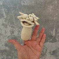 פלאפי אצבע אלין - מקרמיקה