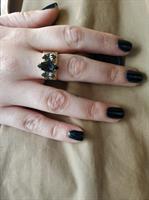 טבעת קורי זהב