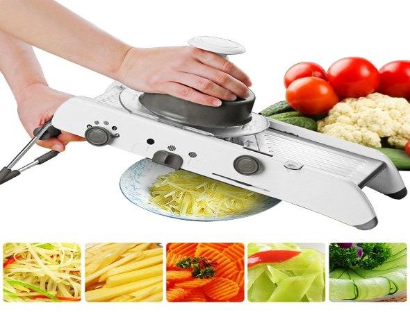 מנדולינה מקצועית לחיתוך ירקות ופירות