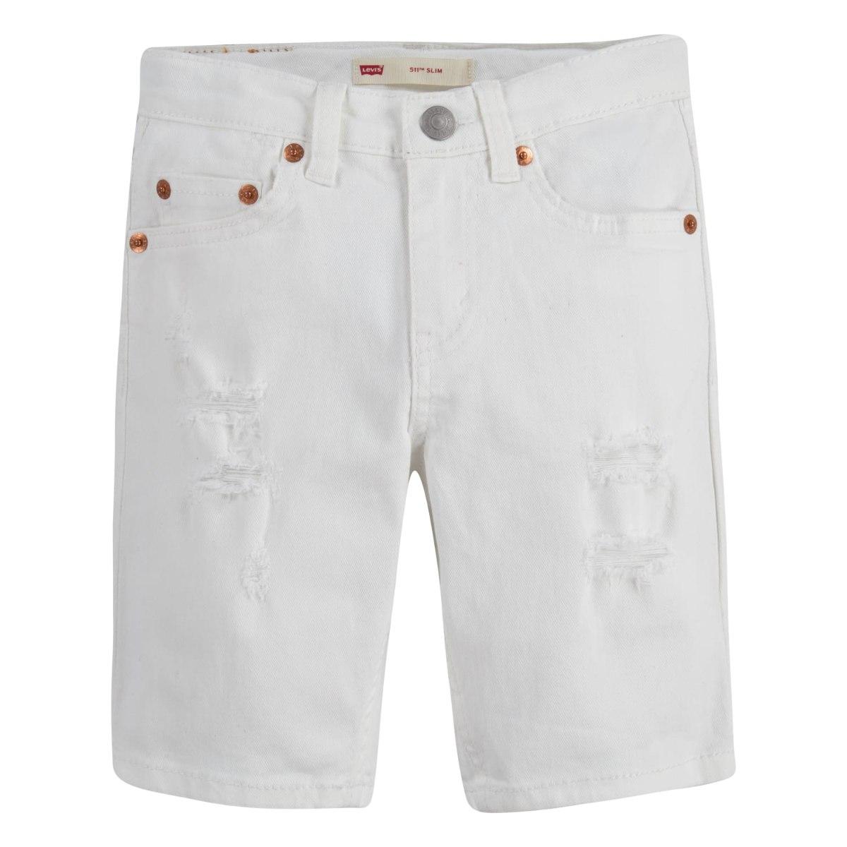ברמודה ג'ינס לבנה (LEV'IS (4-20