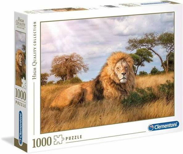 ג'ונגל אריה פאזל 1000 חלקים