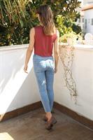 ג'ינס סקיני רובי קרעים